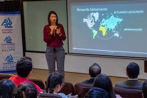 Visita de la Presidenta Nacional de COPARMEX Jóvenes
