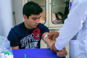 Segunda Campaña de Donación de Sangre SAVE LIFE / GIVE BLOOD