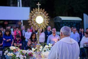 Aligera tu Carga con Jesús, Séptima Hora Eucarística del Reto Heart of a Lion