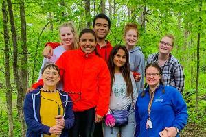 Alumno de Diseño Gráfico participa en el Programa de Campamentos de Verano