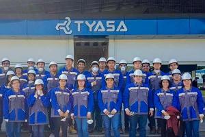 Visita Empresarial de Ingeniería a TYASA