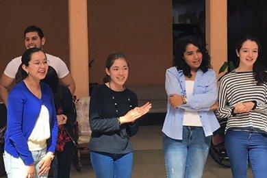 Alumnos de Psicología visitan el Asilo de Cáritas Xalapa
