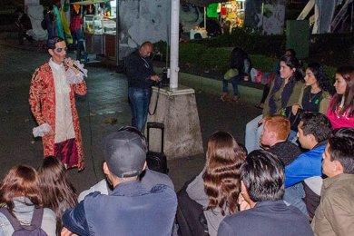 Noche de Leyendas en el Centro Histórico