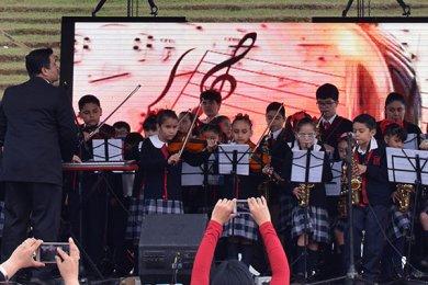 Presentación de la Orquesta Sinfónica Infantil Simón Bolívar