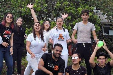 Bienvenida de Grupos Estudiantiles