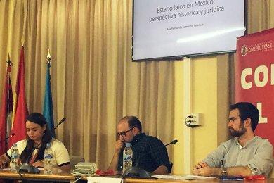 Alumna de Derecho participa en Jornadas Académicas de la Universidad Complutense de Madrid