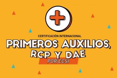 Primeros Auxilios, RCP y DAE