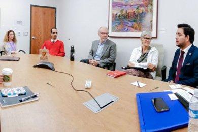Exitosa visita de nuestro Rector a la Universidad de Nebraska