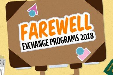 Farewell Exchange Programs 2018