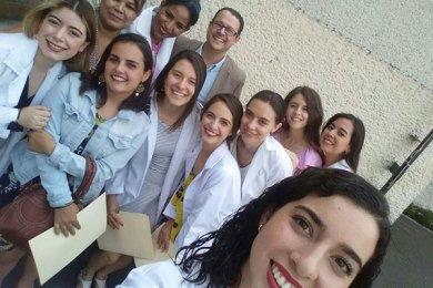 Alumnas de Psicología realizan actividades de campo