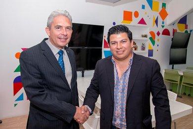 Firma de convenio con NH Mercado Global, líder empresarial en Veracruz