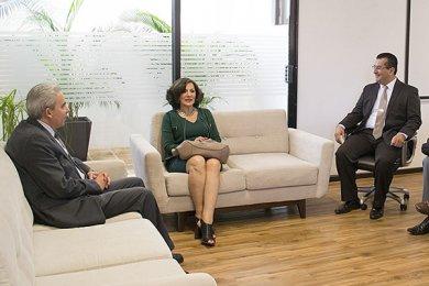 Visita de la Delegada de la Secretaría de Economía de Veracruz