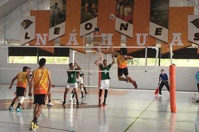 Leones triunfan en Regional de Voleibol