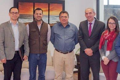 Visita de Juan Nicolás Callejas Roldán
