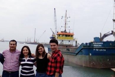 Visita de Negocios Internacionales a la ampliación del Puerto de Veracruz