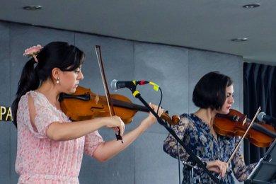 Alumnos brindaron recorrido por la Magia Musical del Cine
