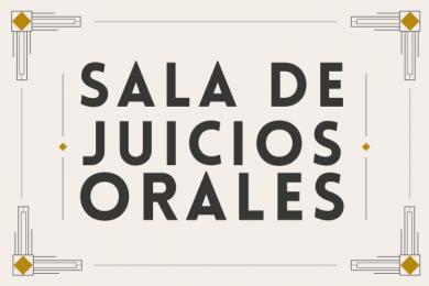 Inauguración de la Sala de Juicios Orales