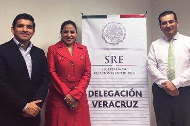 División de Negocios Internacionales en la Delegación de la Secretaría de Relaciones Exteriores