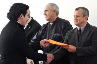 Ceremonia de entrega de Insignias Vértice