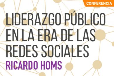 Liderazgo Público en la Era de las Redes Sociales