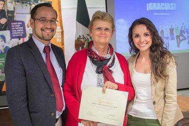 La Mtra. Gisela Rubach imparte conferencia en la Anáhuac