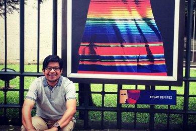 Coordinador de la Escuela de Diseño Gráfico participa en Expo Colectiva de Carteles Sociales