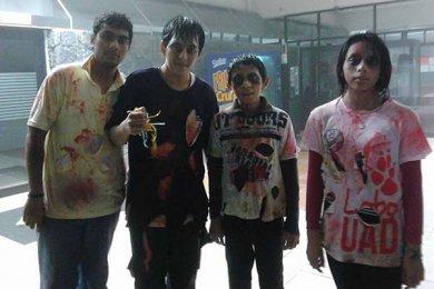 Rally Zombie organizado por Alumnos de Comunicación