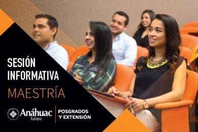 Maestría en Administración Pública: Sesión Informativa Veracruz