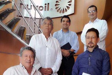 Visita al Grupo Empresarial Nuvoil
