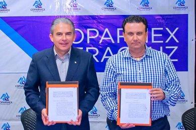 Renovación de Convenio de Colaboración y Vinculación con COPARMEX Veracruz