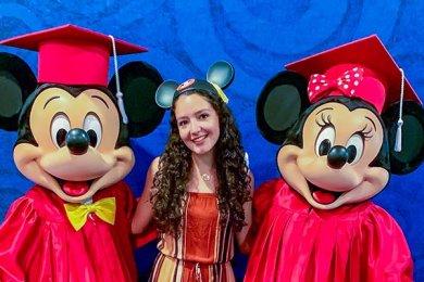 Alumna de Psicología en el Disney ICP 2019