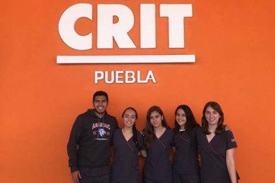 Visita de Terapia Física y Rehabilitación al CRIT Puebla