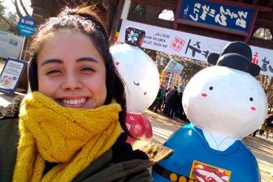 Alumna de Empresas de Entretenimiento de Intercambio en Corea del Sur