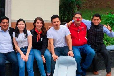 Grupo Gaudium en Misión Urbana en el CECAN y AHTECA
