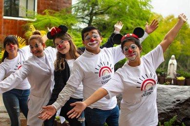 Alumnos de Soñar Despierto con Entusiasmo en el CECAN