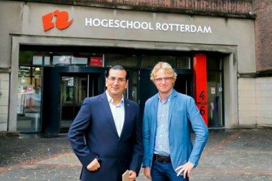 Convenio con la Universidad de Ciencias Aplicadas de Rotterdam, Países Bajos