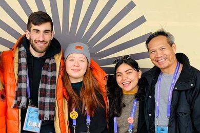 Alumna de Entretenimiento en el Sundance Film Festival