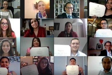 Finalizan Diplomados en Gestión y en Derechos Humanos