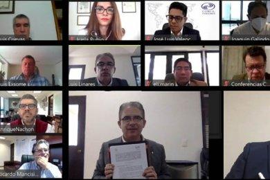 Firma de Convenio con COMCE Veracruz