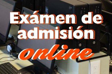 Examen de Admisión Online