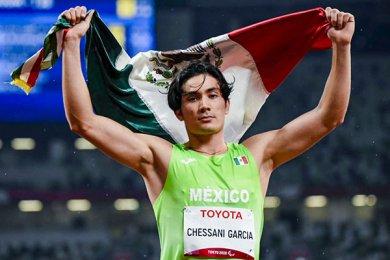 Rodolfo Chessani Obtiene Oro en Juegos Paralímpicos Tokyo 2020